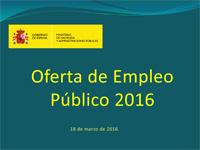 Aprobada la oferta de empleo público para 2016 con un total de 19.121 plazas