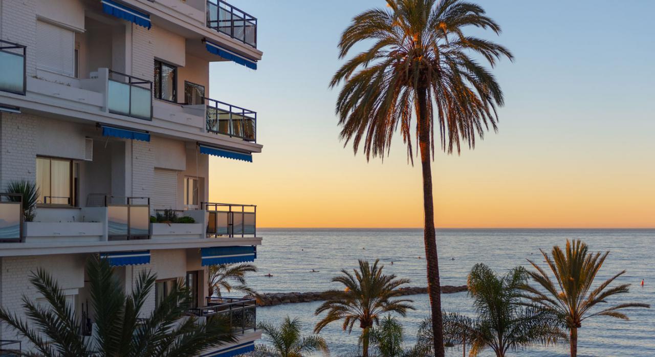 RAI. Imagen de un amanecer en la playa