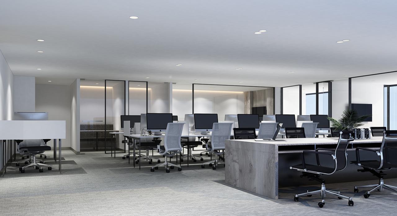 AGE covid19. Imagen de un centro de trabajo