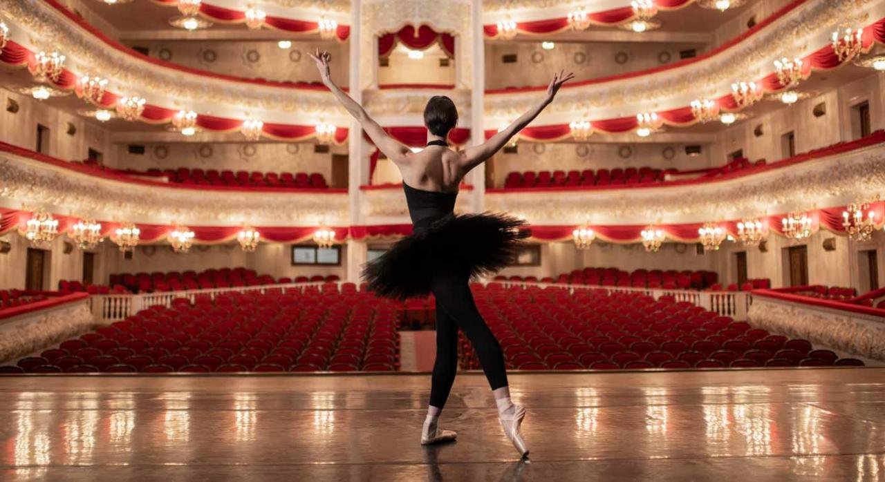 Ante la realización de labores estructurales la contratación adecuada es la indefinida. Imagen de bailarina del Ballet Nacional