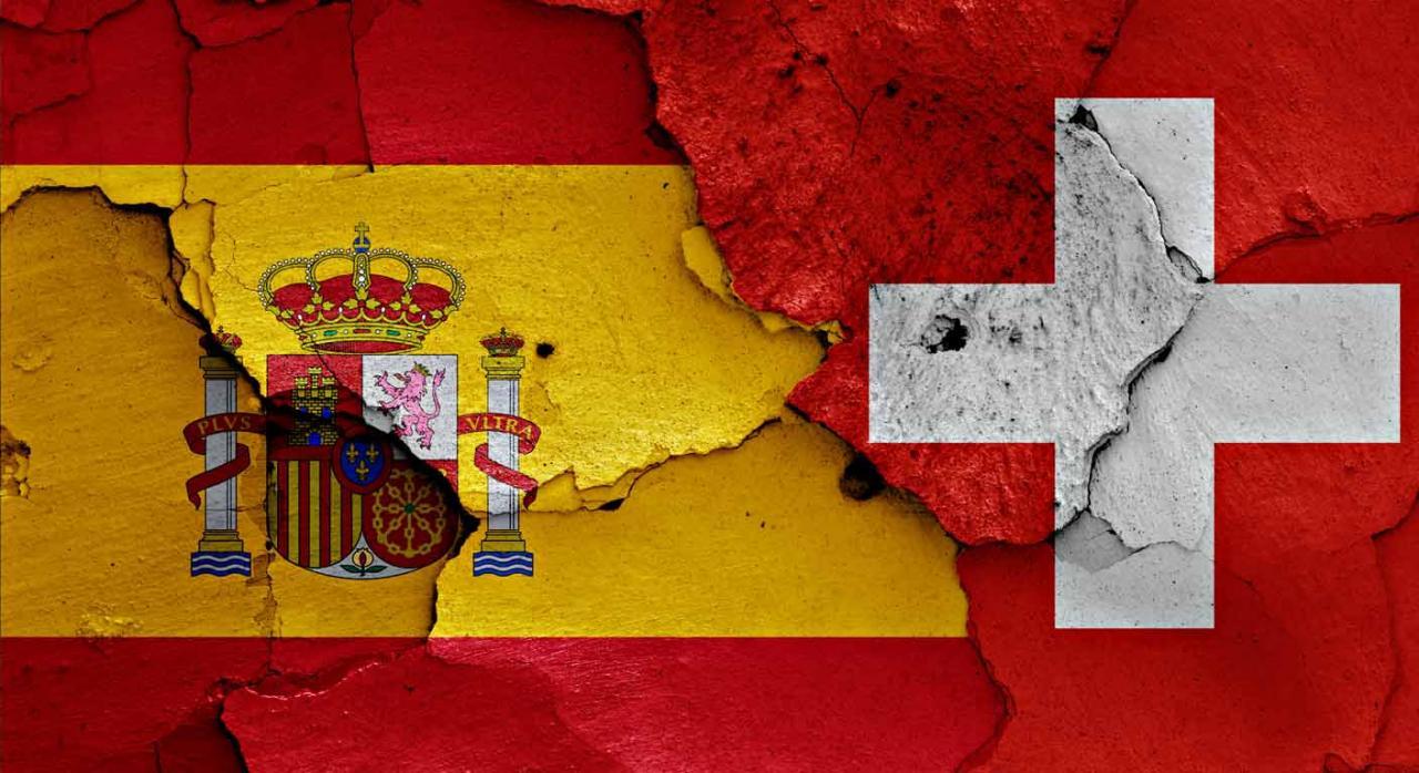 Complemento por mínimos. Bandera española con un simbolo más dentro