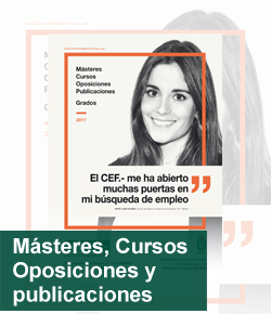 Catalago Másteres, Cursos, Oposiciones y publicaciones