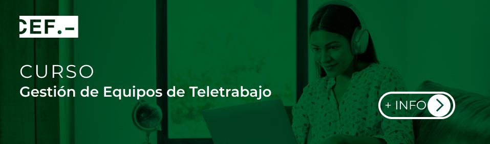 Curso Gestion de Equipos de Teletrabajo