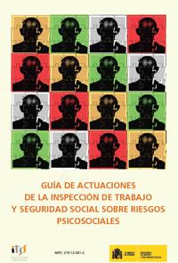 guía de actuación de la ITSS sobre riesgos psicosociales
