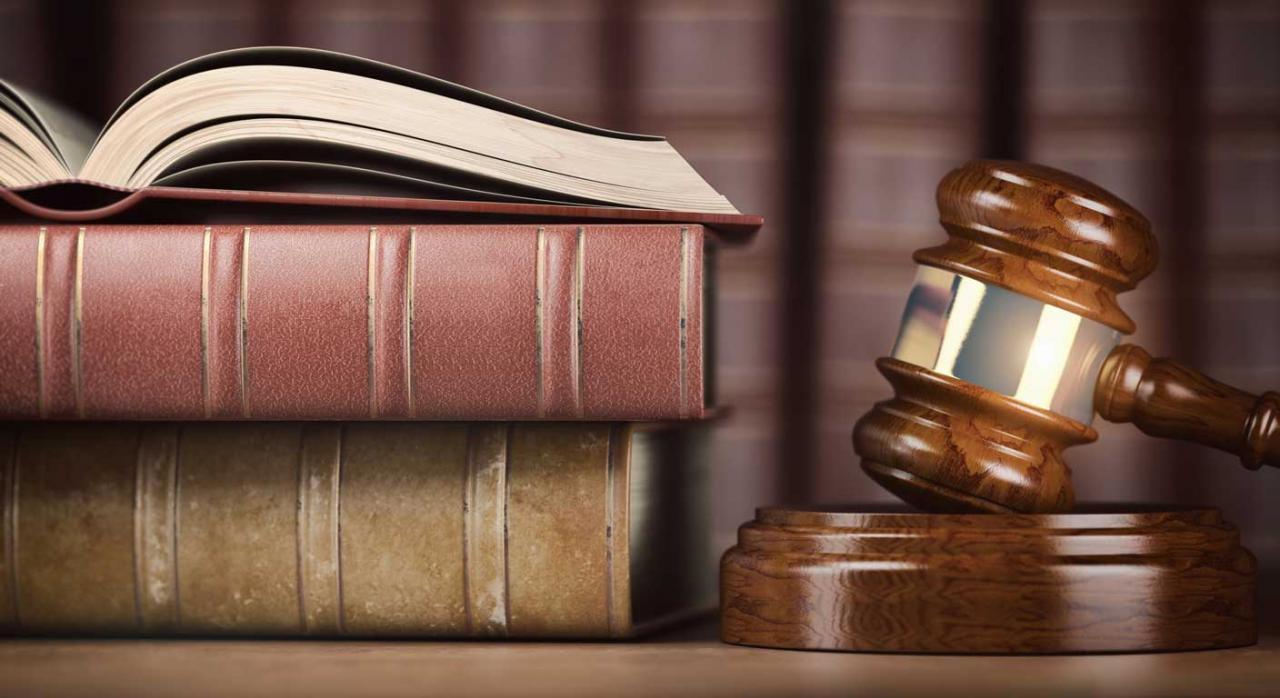 Jurisprudencia. Imagen de concepto jurídico