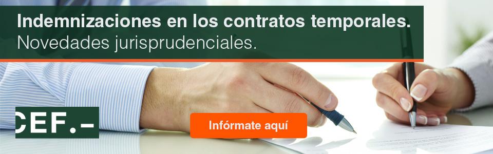 Recepción por los tribunales españoles de la doctrina comunitaria en materia de contratación temporal