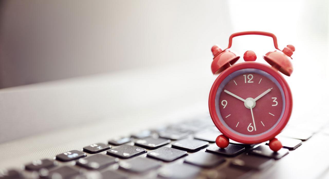 control del tiempo de trabajo