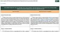 Enmiendas del Grupo Parlamentario Popular al Proyecto de Ley de reforma del mercado laboral