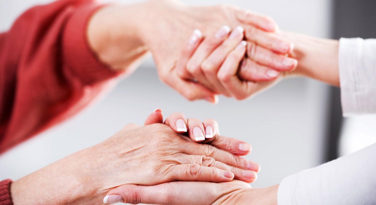 Estrechando manos