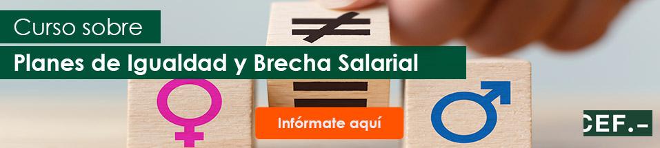 Curso sobre Planes de Igualdad y Brecha Salarial