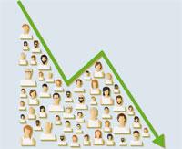 El paro registrado baja en febrero en 9.355 personas
