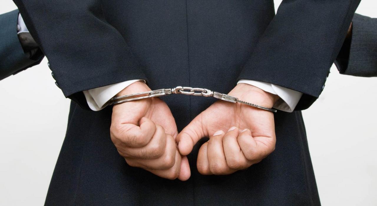 ejecutivo arrestado por fraude