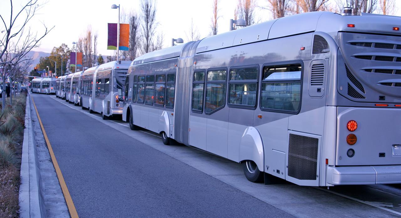 erte; sociedad mercantil pública; ingresos públicos. Imagen de autobuses