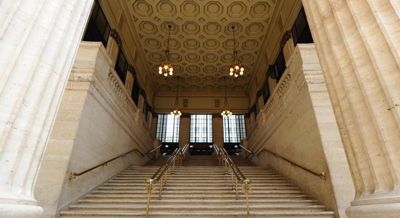 Imagen de la estación de la Unión de la ciudad de Chicago