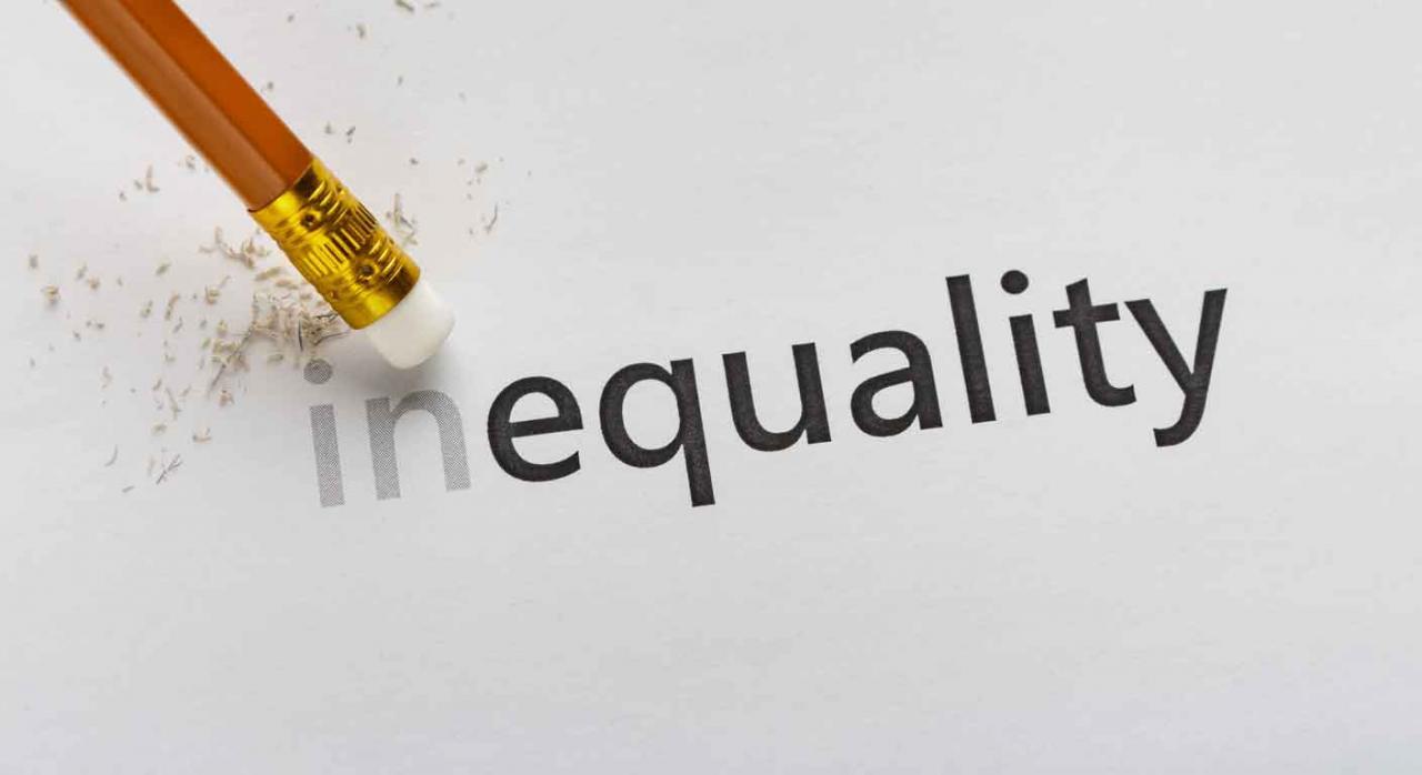 Ett. Planes de igualdad. Imagen de un lápiz con la palabra equility