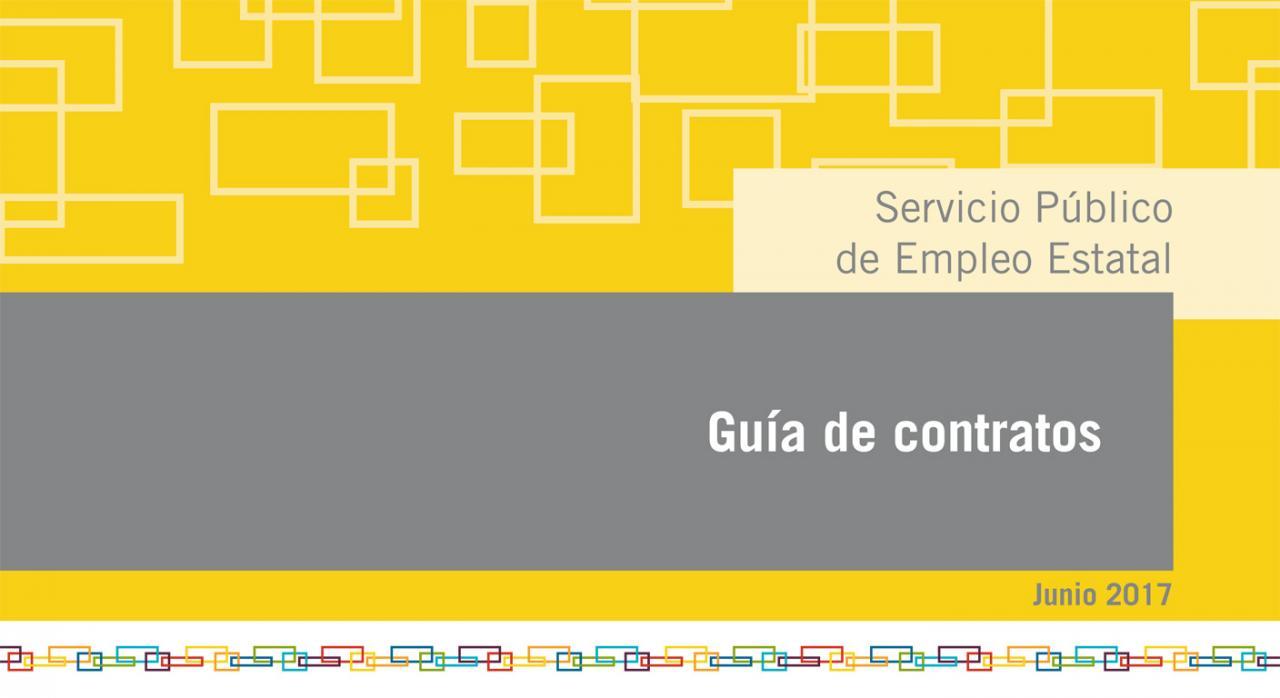 Guía de contratos SEPE 2017