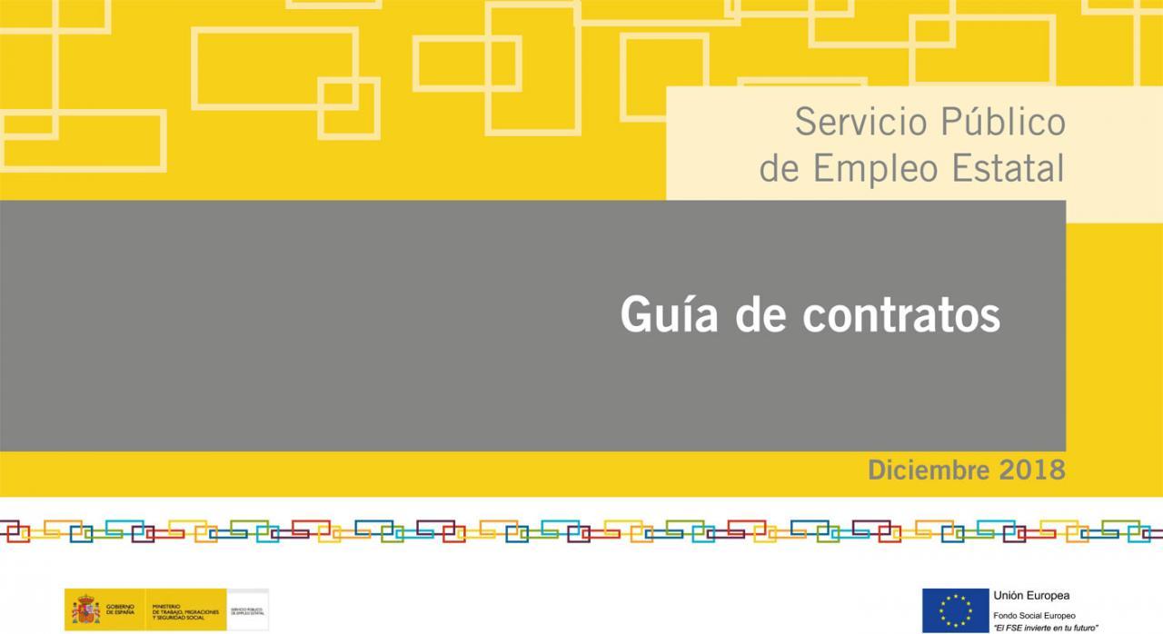 guía de contratos SEPE