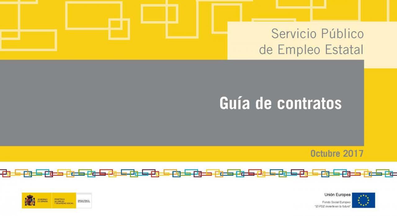 Guía de contratos. SEPE