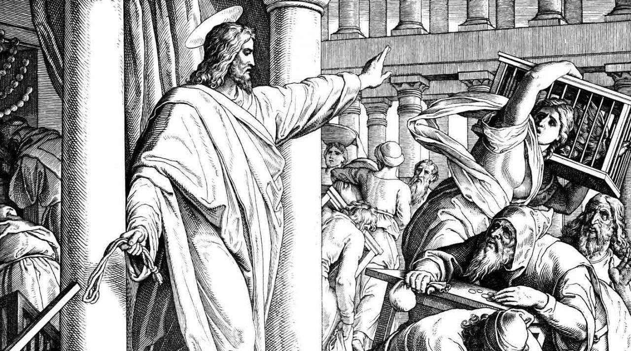 Expulsión de los mercaderes del templo