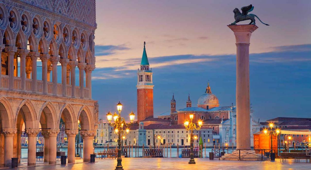Selección de jurisprudencia. Imagen de una plaza de Venecia
