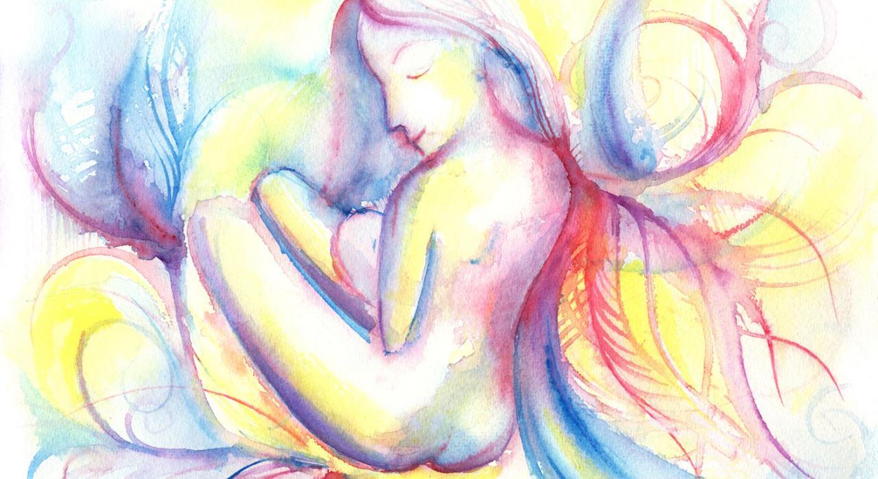 Lactancia natural. Imagen de la maternidad