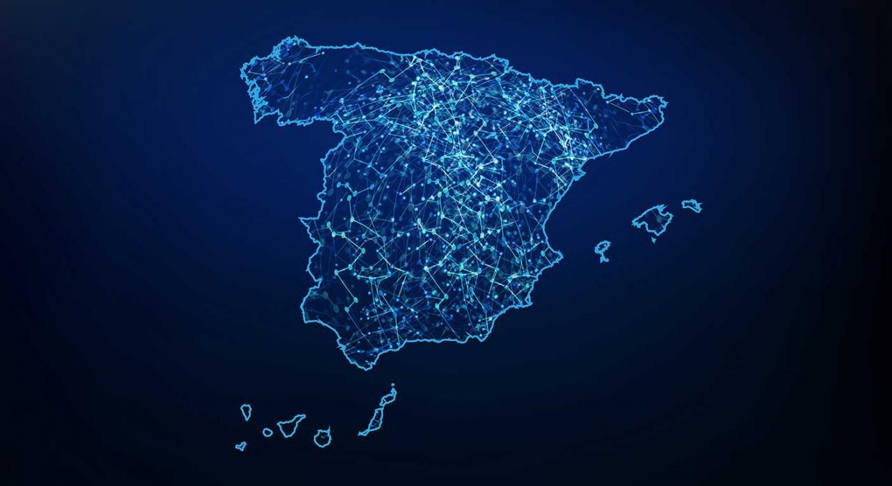 Legislación autonómica. Imagen de la red de mapas de España,