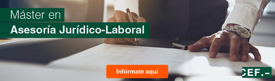 Máster en Asesoría Jurídico-Laboral