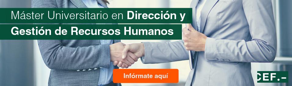 Master en Dirección y Gestión de Recursos Humanos