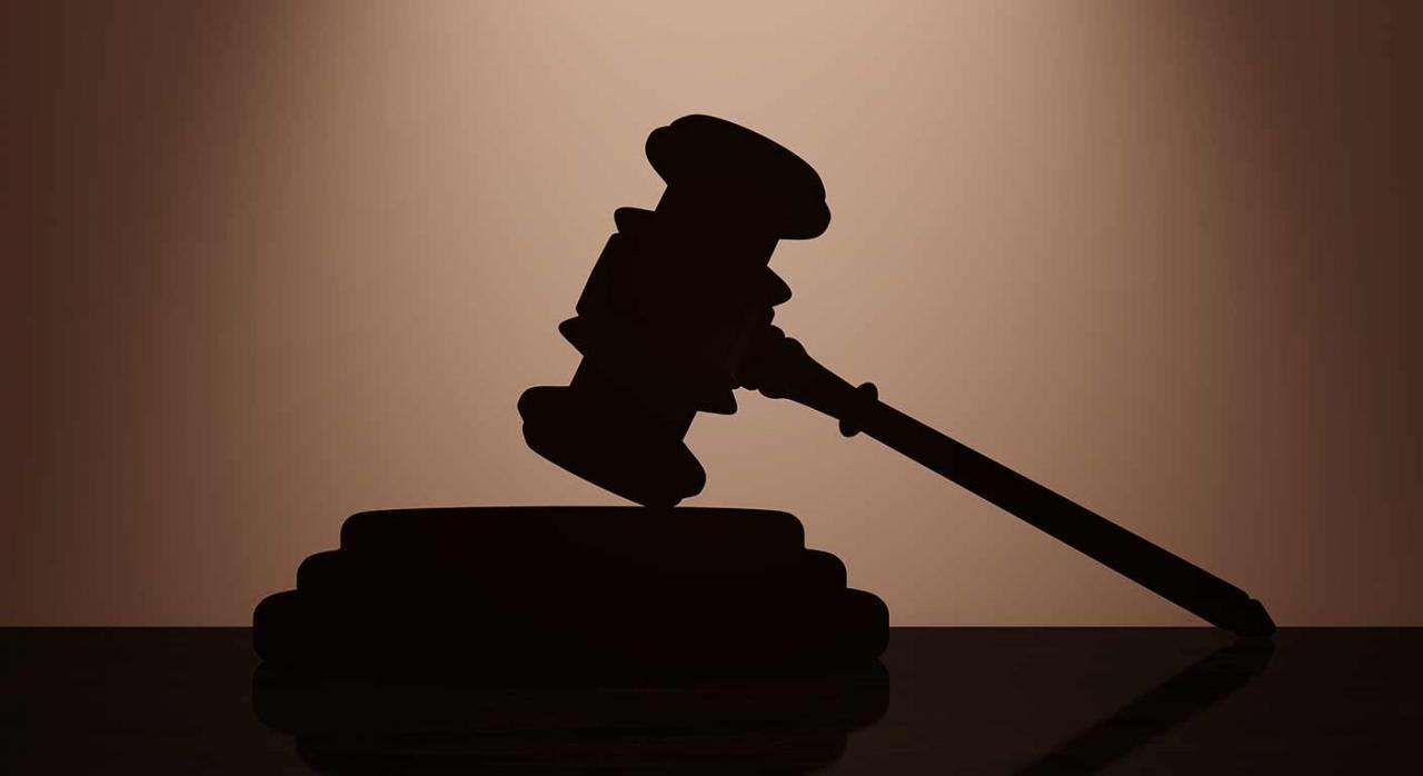 Selección de jurisprudencia (del 16 al 30 de septiembre de 2021). Imagen del mazo de la justicia