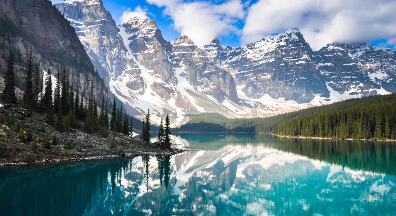 Selección de jurisprudencia (del 1 al 15 de marzo de 2021). Imagen de las Montañas Rocosas de Canadá