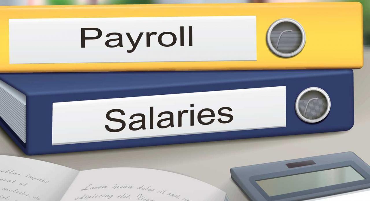 Nóminas y recibo de salarios
