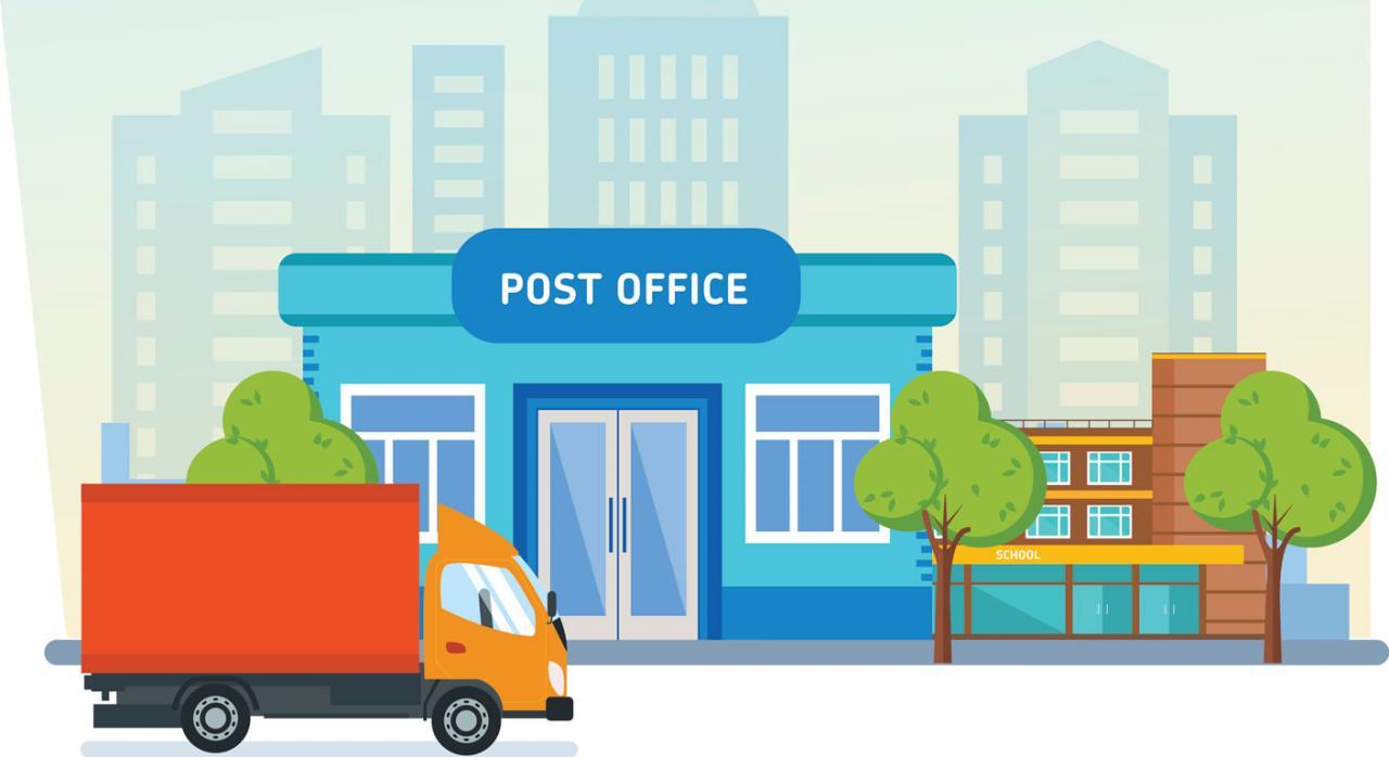 Papeleta de conciliación por despido presentada en la oficina de correos