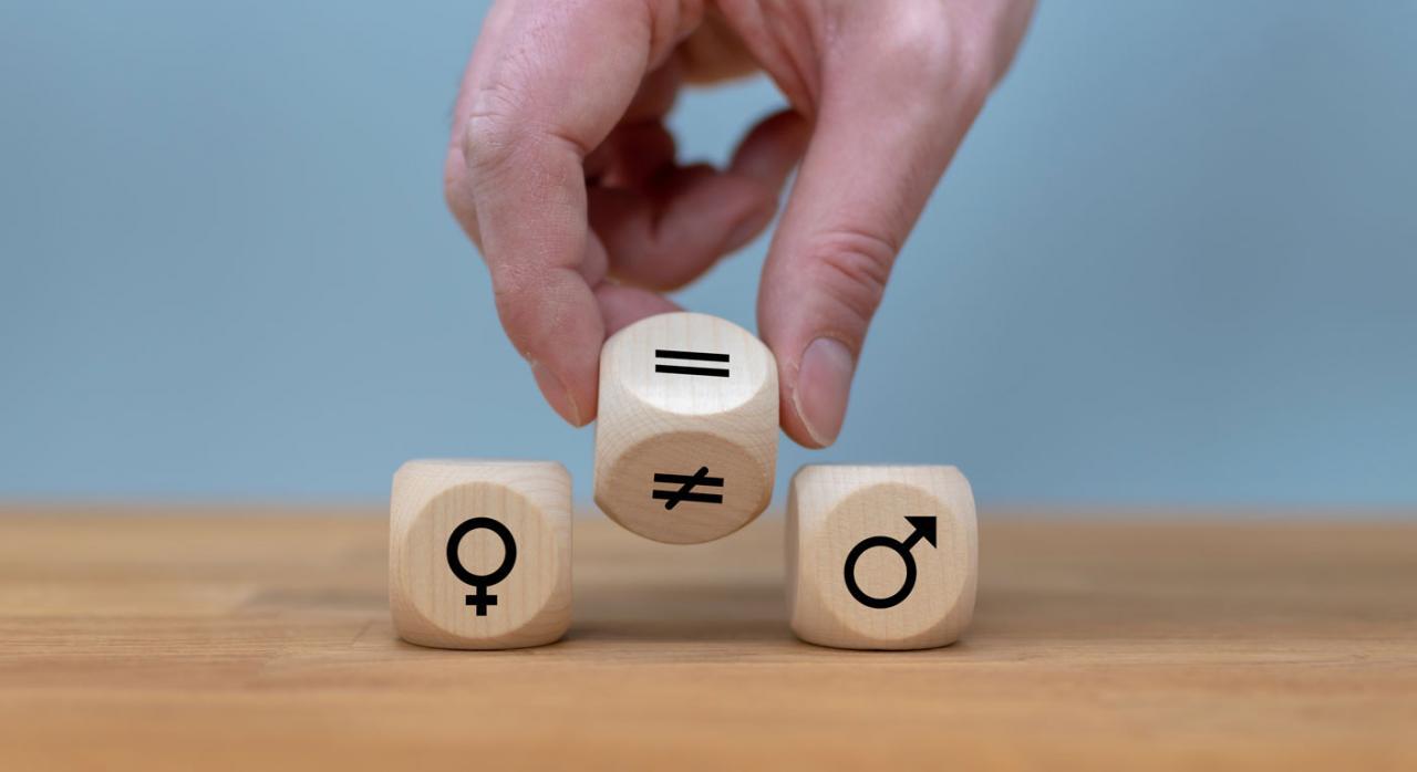 Plan de igualdad, legitimación, convenio colectivo. Imagen del símbolo para la igualdad de género