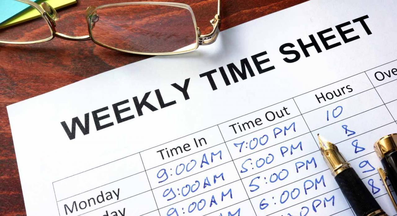 Registro jornada de trabajo de la plantilla