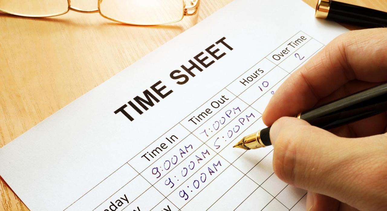 Registro de la jornada de trabajo