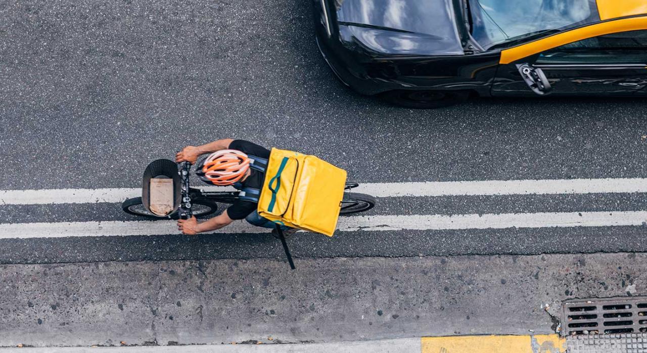 riders oit. Imagen de un rider