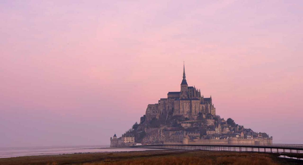 Vista del Monte Saint Michel