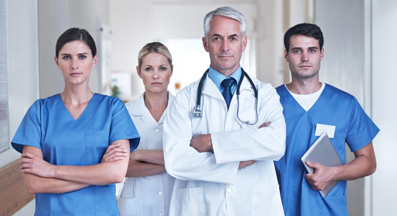 Sanitarios covid 19. Imagen de personal sanitario