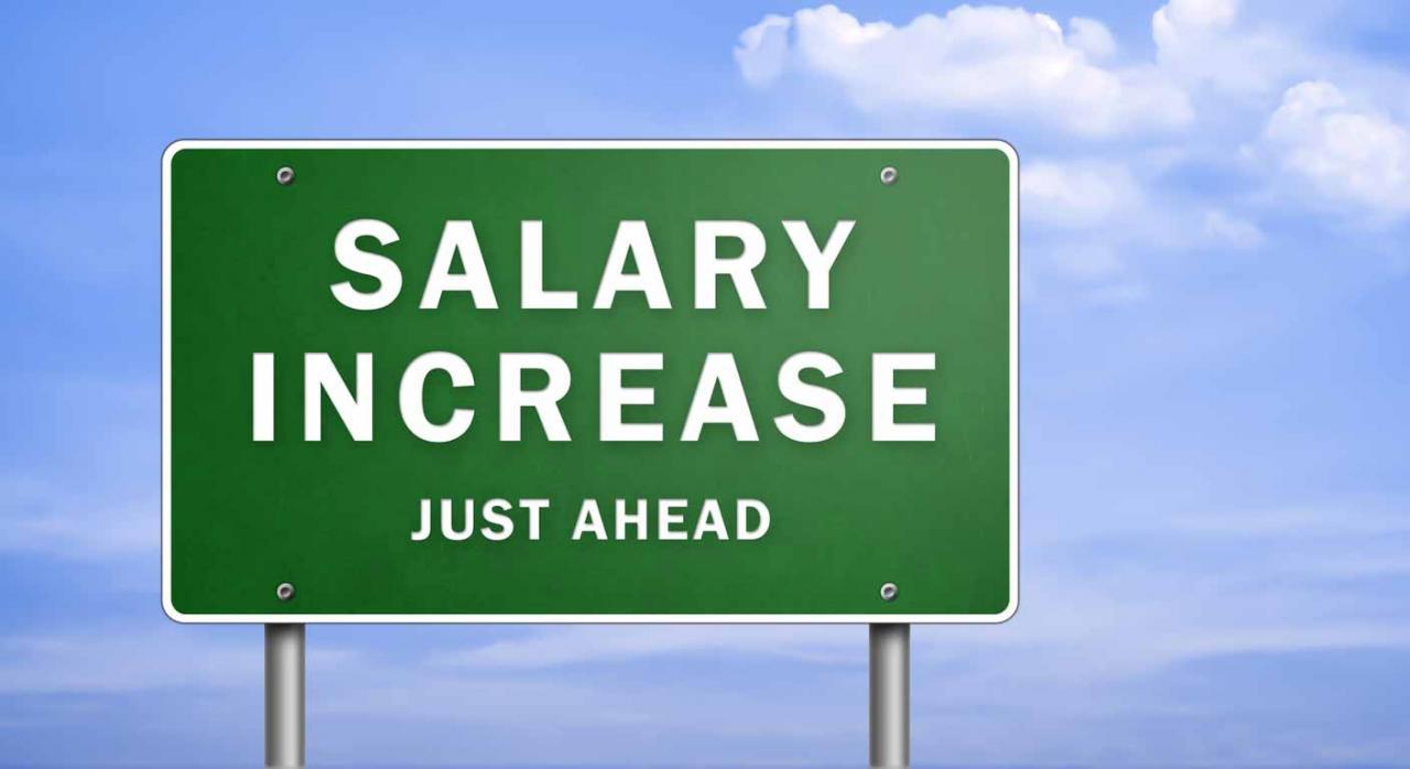 Subidas salariales