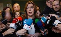 Díaz destaca el cumplimiento de su compromiso con los empleados públicos en la recuperación este lunes de las 35 horas
