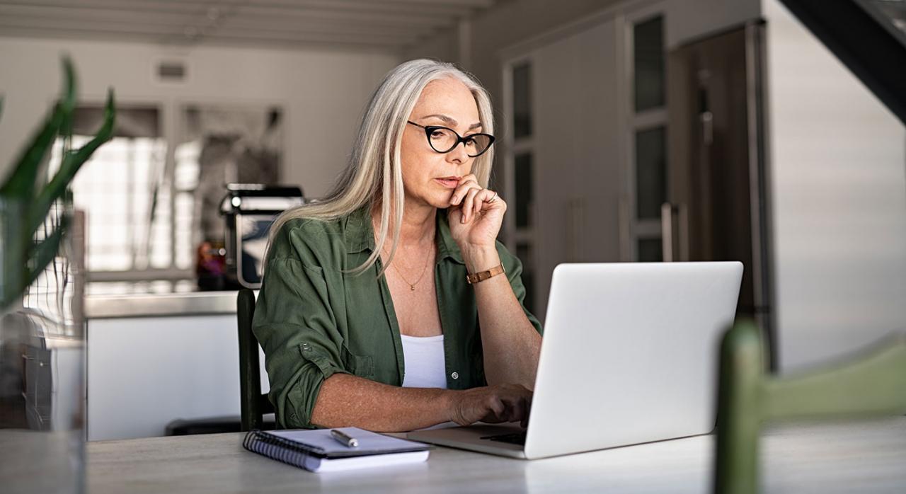 Teletrabajo España. Imagen de una mujero con un ordenador