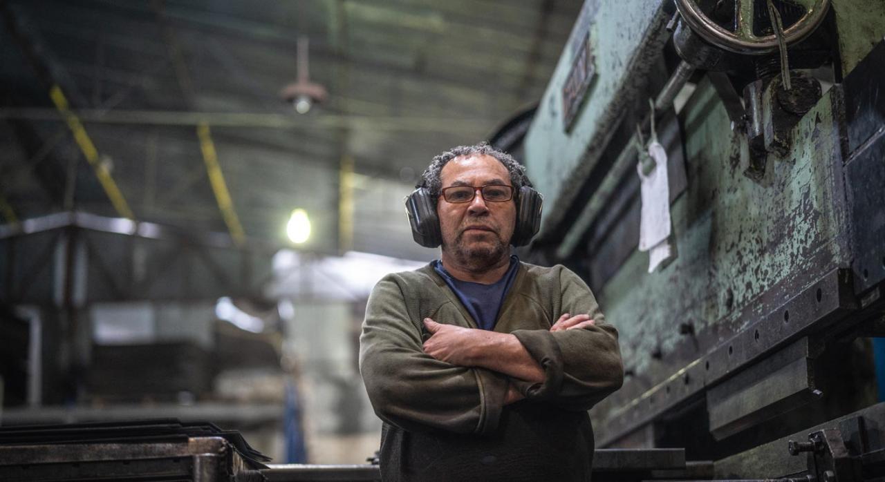 Trabajador mayor de 55 años