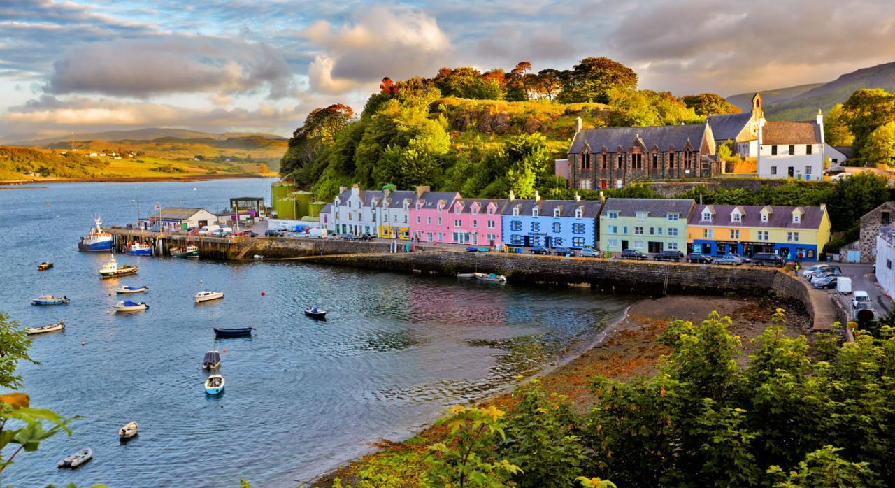 Vacaciones. Foto de la isla de Skye, Escocia